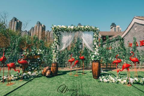 湖太府户外婚礼庭院